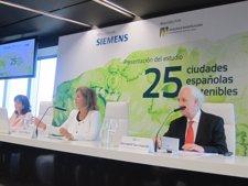 Siemens presenta el estudio '25 ciudades españolas sostenibles'