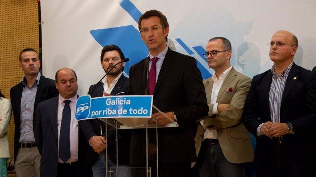O Presidente Dos Populares Galegos, Alberto Núñez Feijóo