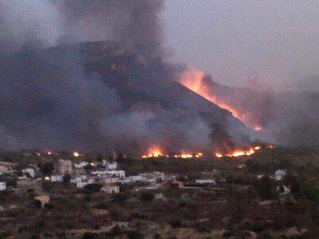 Incendio De Chulilla