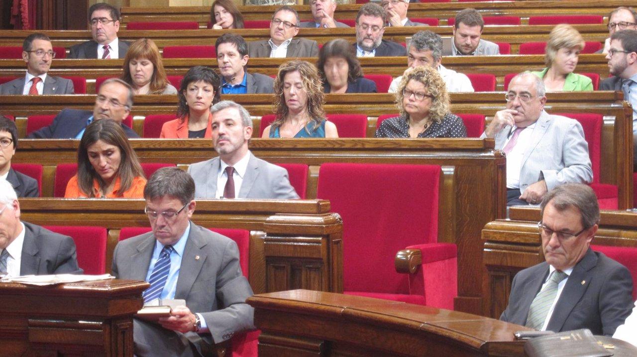 Artur Mas, En El Debate De Política General Del Parlament