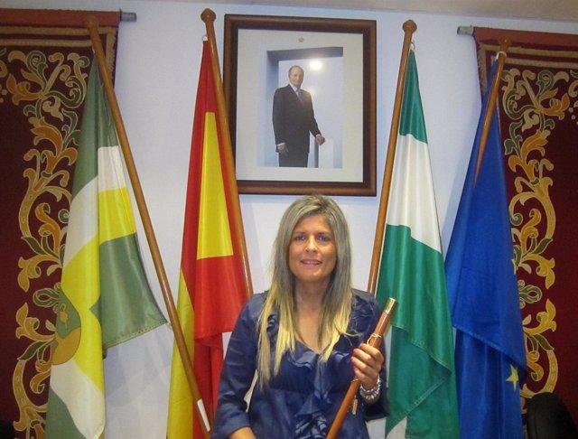 Ana Hermoso, Tras Su Toma De Posesión Como Alcaldesa De Bormujos