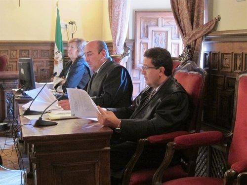 El Juez Serrano En La Sala De Lo Civil Y Penal Del TSJA, Donde Es Juzgado