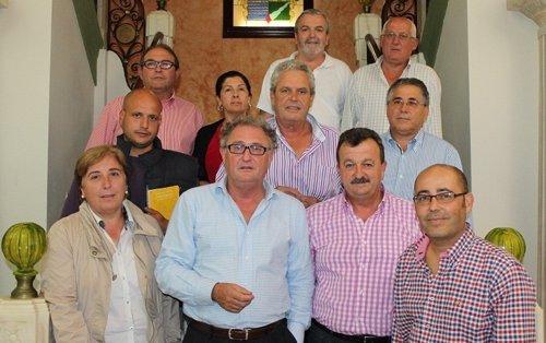 Alcaldes afectados por el temporal en Almería