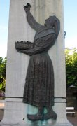 Homenaje a la mujer de Tapia