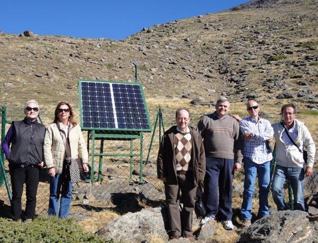 Instalan en Sierra Nevada una estación de medida de resonancias Schumann