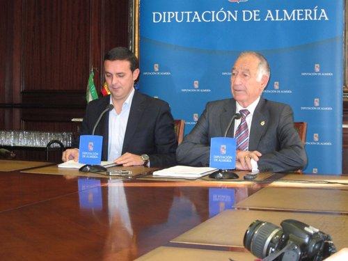 Javier Aureliano García y Gabriel Amat (PP)