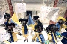 Truchas disfrazas de la afición gaditana