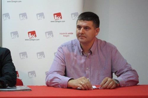 El diputado de IU en las Cortes, Miguel Aso
