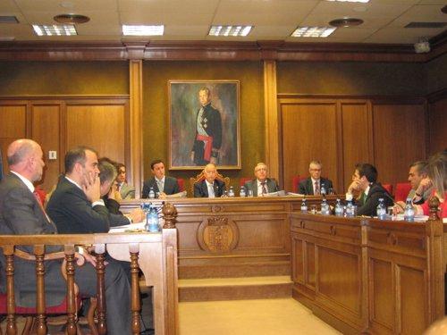Pleno de la Diputación de Almería