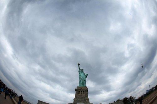 El cielo de Nueva York antes del huracán 'Sandy'