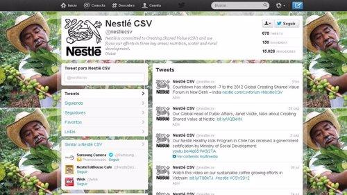 Nestlé busca el apoyo en las redes sociales para paralizar sus críticas