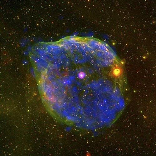 Burbuja formada por viento estelar