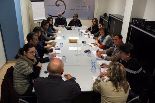 Reunión De La Mesa De La Discapacidad Con Grupos Políticos