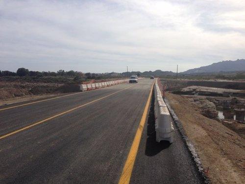 Carretera entre Vera y Garrucha