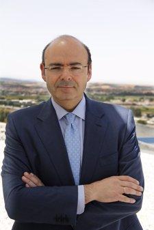 El presidente del PP de Granada y de la Diputación, Sebastián Pérez.