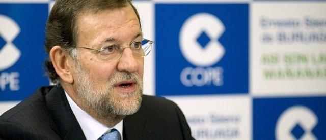 Mariano Rajoy en la Cadena Cope