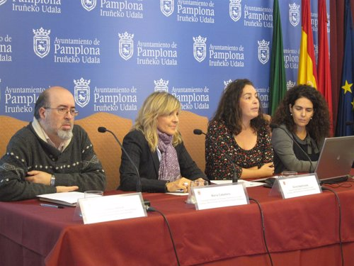 Carlos Albillo, María Caballero, Silvia Azpilicueta y Amaya Villanueva.