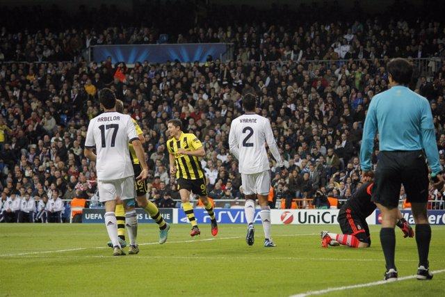 Varane,Arbeloa Real Madrid Borussia Dortmund