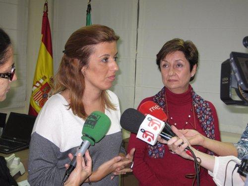 Ferrer y Caparrós atienden a los medios de comunicación