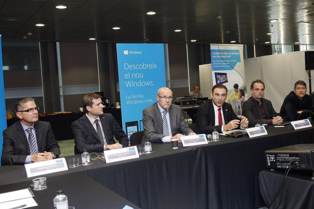 Presentación de Windows 8 y Windows Phone 8 en catalán
