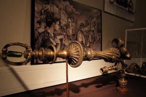 Pistola de rayos en 'Steampunk, futuros que nunca fueron'