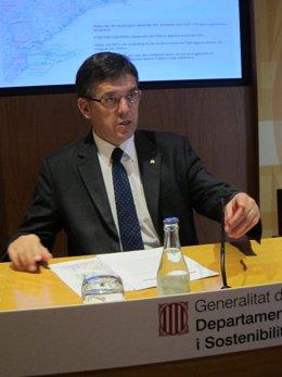 Conseller de Territorio y Sostenibilidad, Lluís Recoder