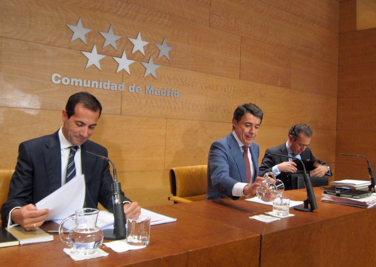 Victoria, González y Ossorio este jueves en la rueda del Consejo de Gobierno