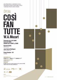 Una nueva versión de 'Così fan tutte' llega al Teatro Lope de Vega