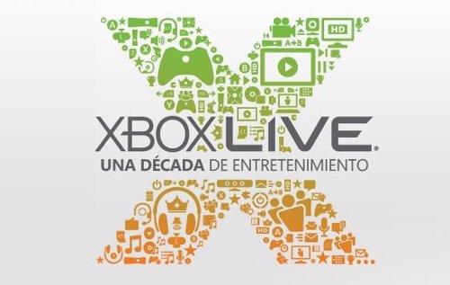 Xbox Live cumplio 10 años