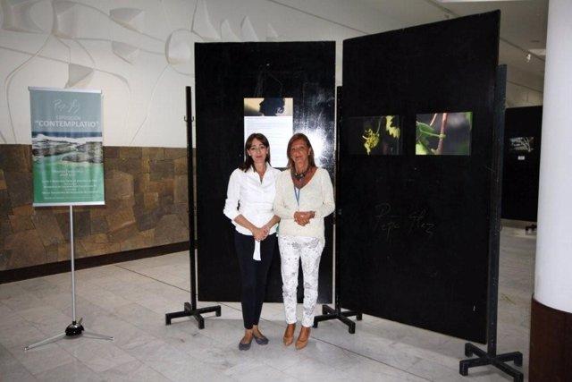 Pepa González y Ángela Navarro