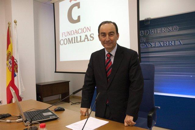 Miguel Ángel Serna, consejero de Educación, Cultura y Deporte