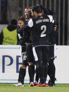 El Málaga empata con el Zenit