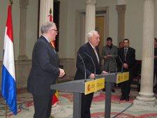 Margallo en rueda de prensa