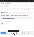 Google integra Drive en Gmail y permite adjuntar archivos de hasta 10 GB