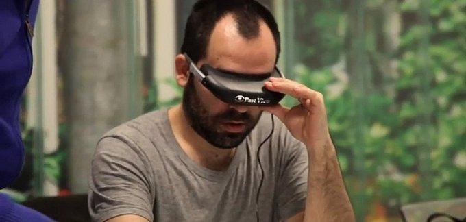 Recurso gafas realidad virtual
