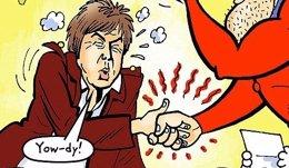 Paul McCartney the Dandy
