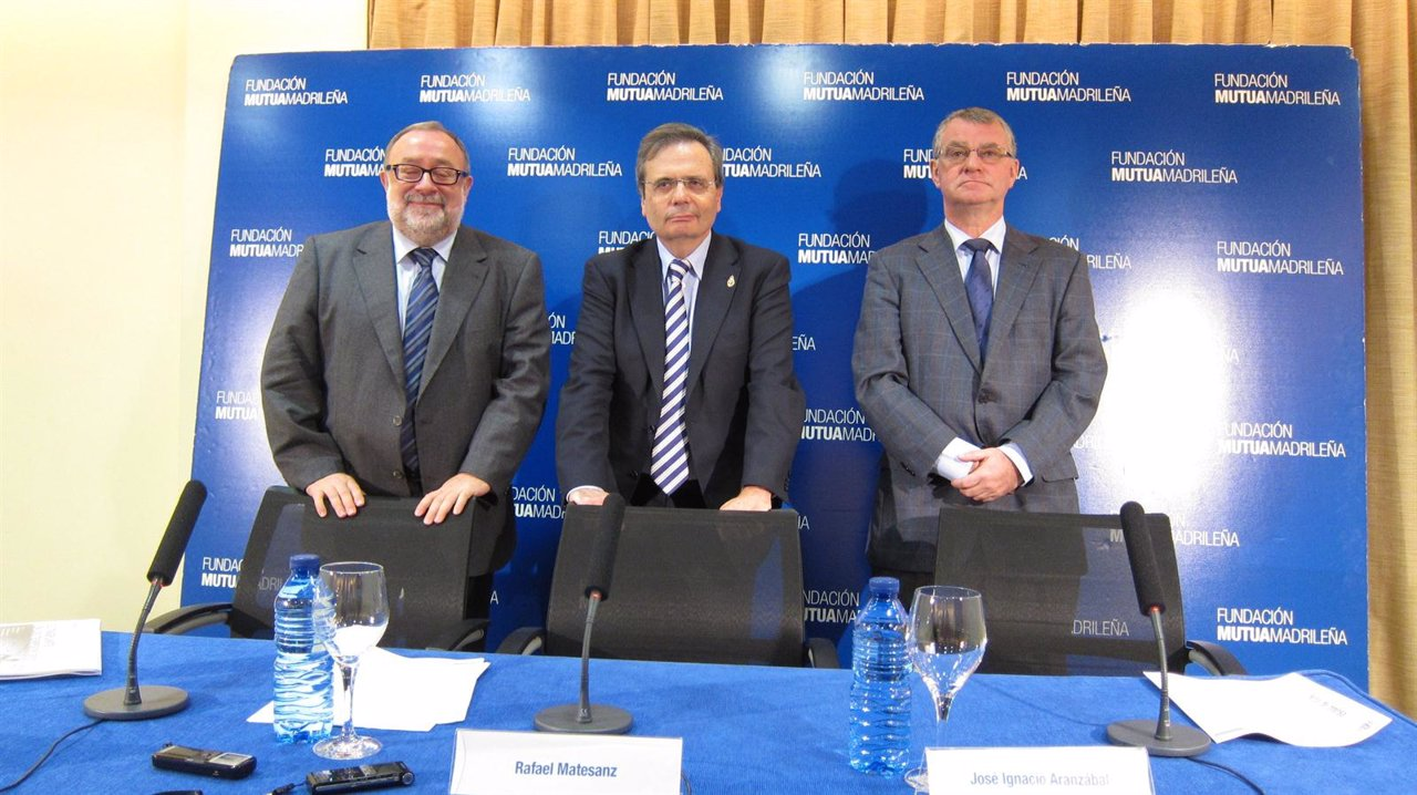 El presidente de ONT, Rafael Matesanz, y los coordinadores de Cataluña y Euskadi