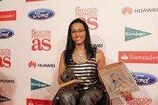 Teresa Perales, en la Gala de los Premios As