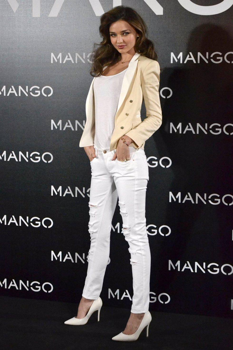 Miranda Kerr la nueva imagen de Mango