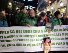 Manifestaciones educación