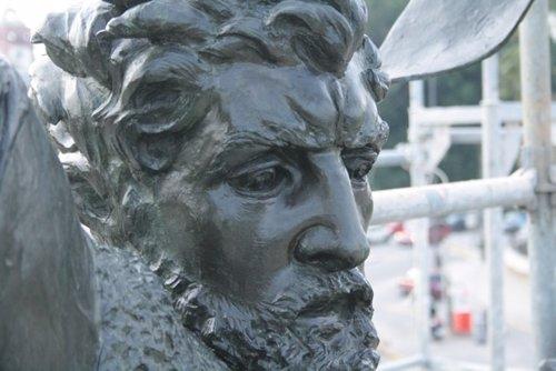 Estatua del Cid en el Prado