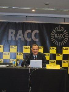Xavier Ruestes, durante la presentación del estudio EuroRAP