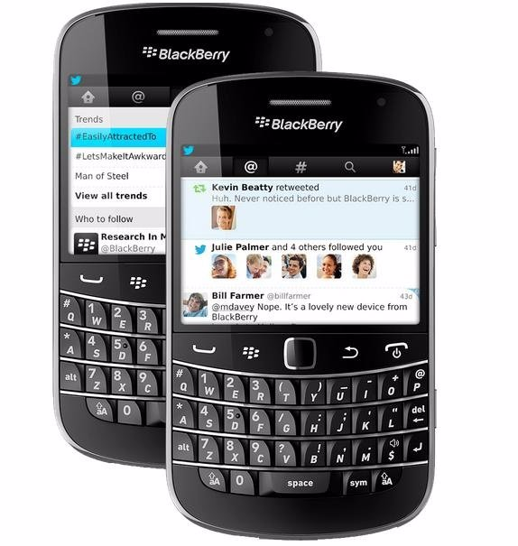 Twitter renueva su aplicación para BlackBerry