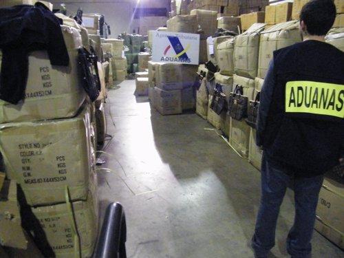 Incautaciones de artículos falsificados en Riba-roja