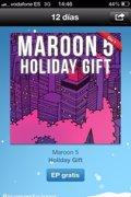 Maroon 5 estrena los '12 Días de Regalos de iTunes'