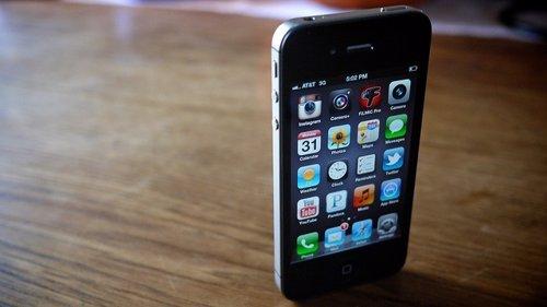 IPhone 4S en vertical