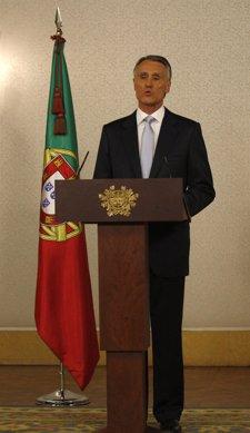 El presidente de Portugal, Anibal Cavaco Silva