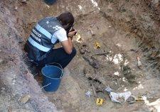 Lugar donde se hallaron los cadáveres