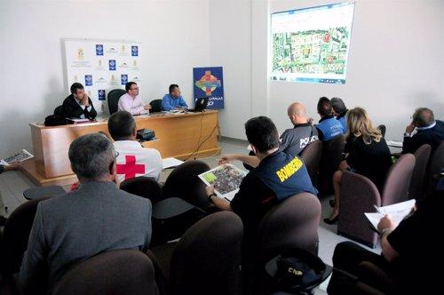 Junta de seguridad del Carnaval de Maspalomas 2013