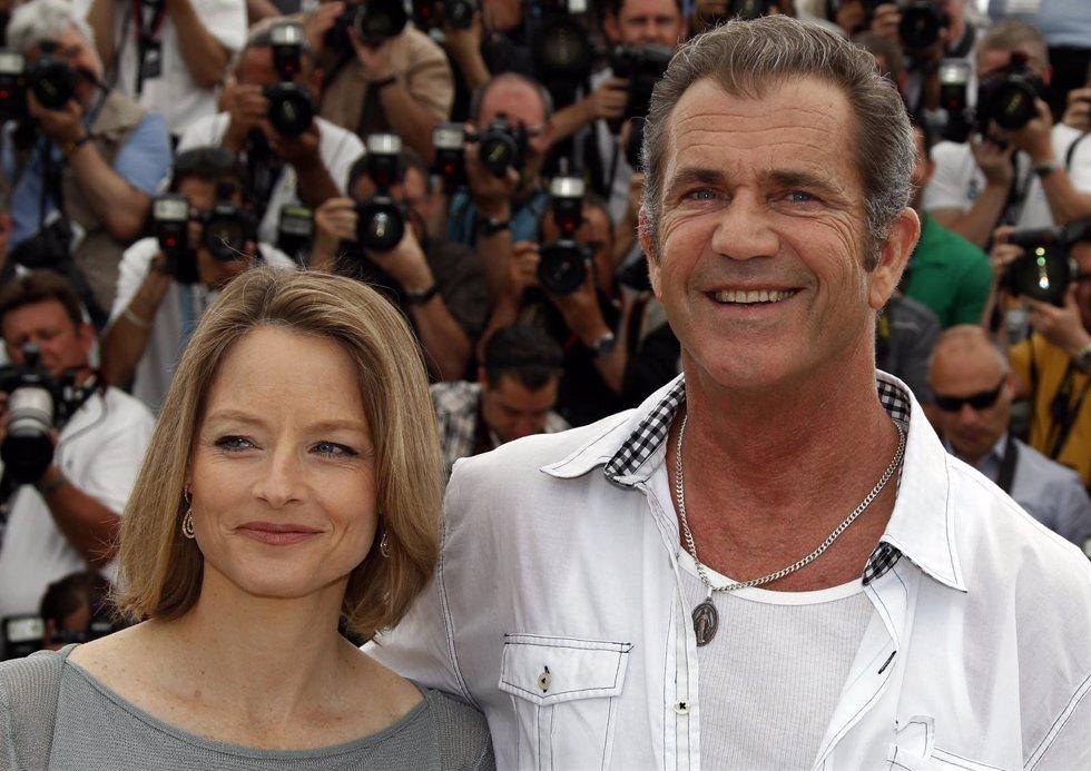 Jodie Foster y Mel Gibson